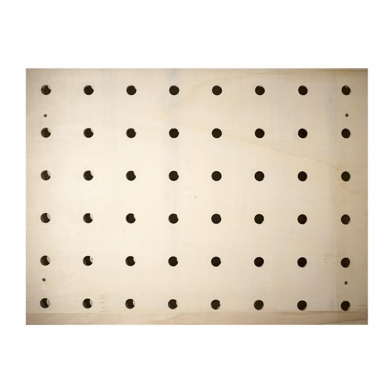 Mur modulaire ou Pegboard en bois