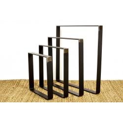 Customized flat steel legs