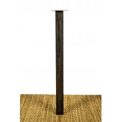 Pied de Table acier, en tube carré fabriqué sur mesure