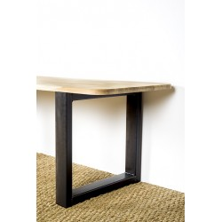 Bench leg made with our Olympe model. Size of 40 cm by 40 cm