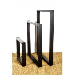 Olympe, metal table leg, made from industrial steel