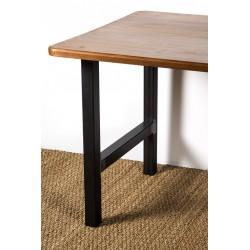 Hercule, pied de table en acier pour personnaliser vos meubles