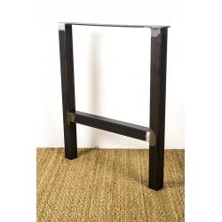"Pied de table ou de banc en acier, Design ""Hercule"""