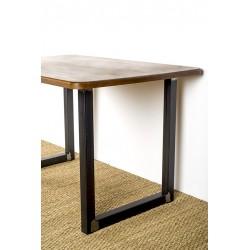 """Pied de table ou de banc en acier, Design """"Ulysse"""""""