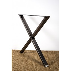 Cross table leg, Xénia model
