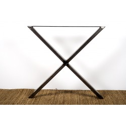 Xénia - Steel cross table leg