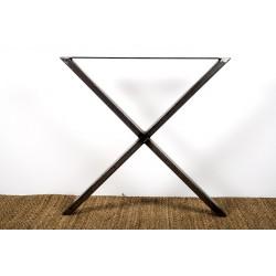 Xénia - Pied acier en croix
