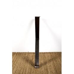 Xénia - Steel leg in X