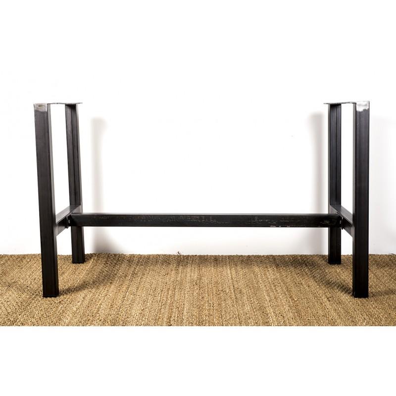 Héraclite - pied de table métal en structure
