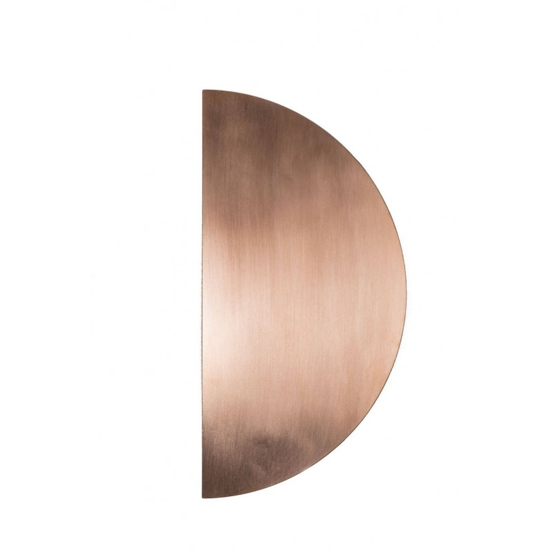 Antimicrobial copper push plate