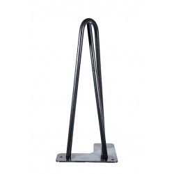"""Hairpin Legs model """"Trident"""" 30 cm Made In France"""