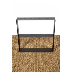 Coffee table leg - side view