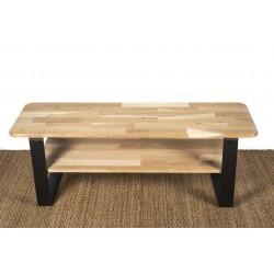 Pied de table basse style industriel - vue d'ensemble