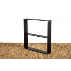 Pied de table basse avec rangement - vue d'angle