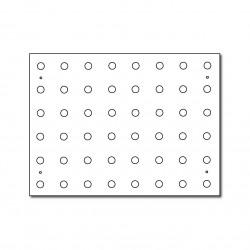 Esquisse du peboard - dessin de mur modulaire