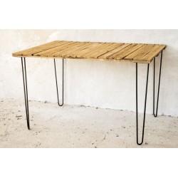 """""""Classic"""" - Table, bureau.  Pied en épingle 71 cm Hairpin Legs"""