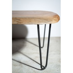 """Classic"" - Coffee Table  Details. Hairpin Legs 30 cm - Made In France"