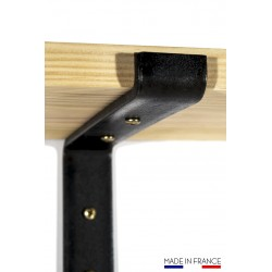 Wall shelf support for kitchen, living room, ..